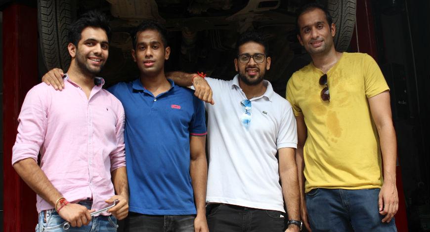 GoMechanic Founding Team