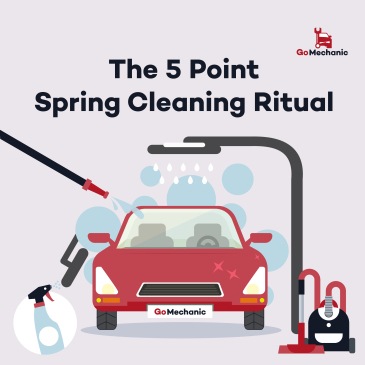 The 5 Point Spring Cleaning Ritual