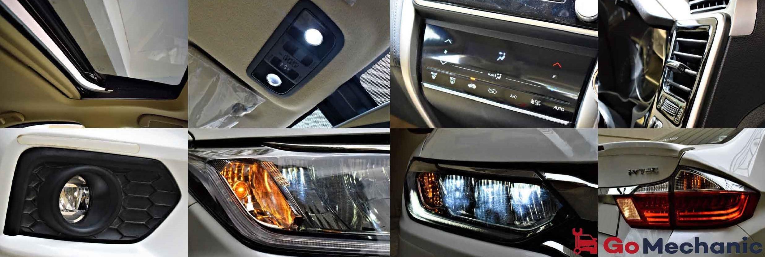 2017 Honda City Sunroof, LED Headlamps, AC check for Preventive Maintenance