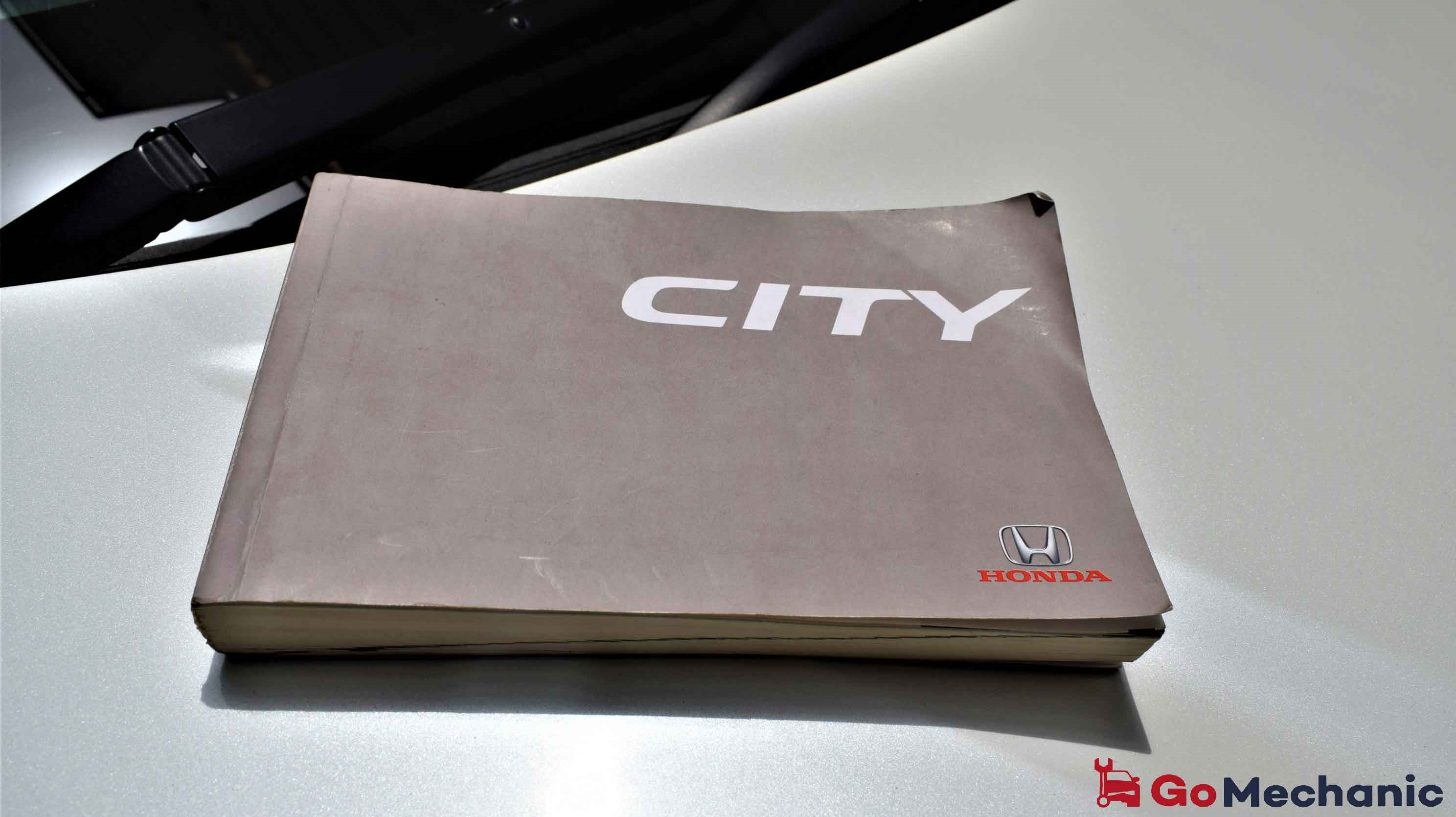 Honda City Owner's Manual for Preventive Maintenance