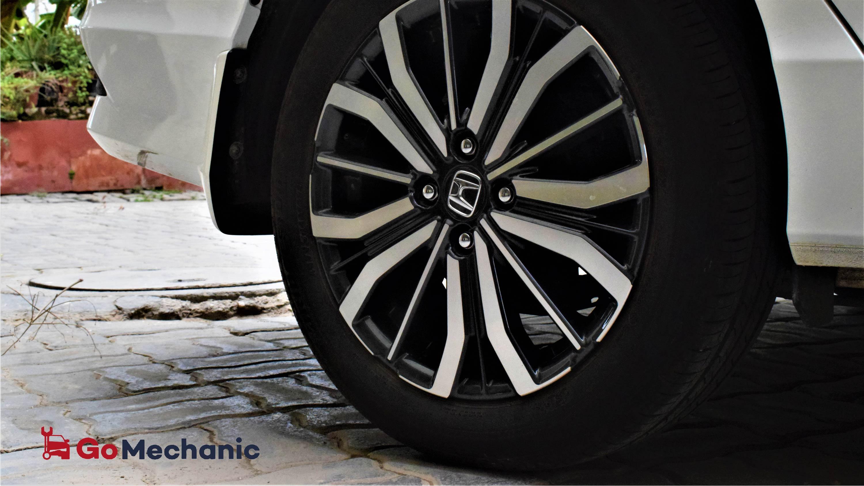 Honda City Tyre Rotation