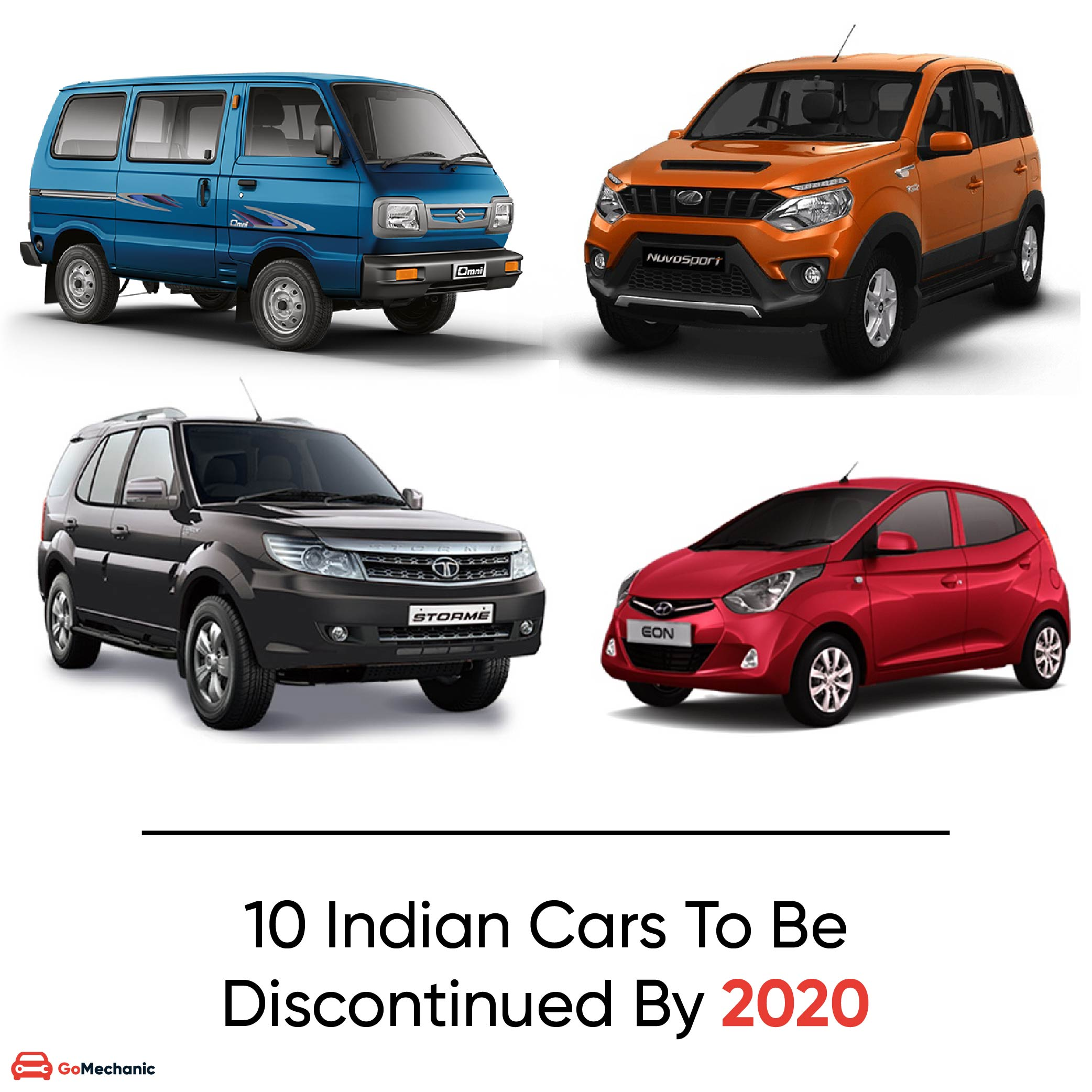 Indian Cars Discontinued By 2020