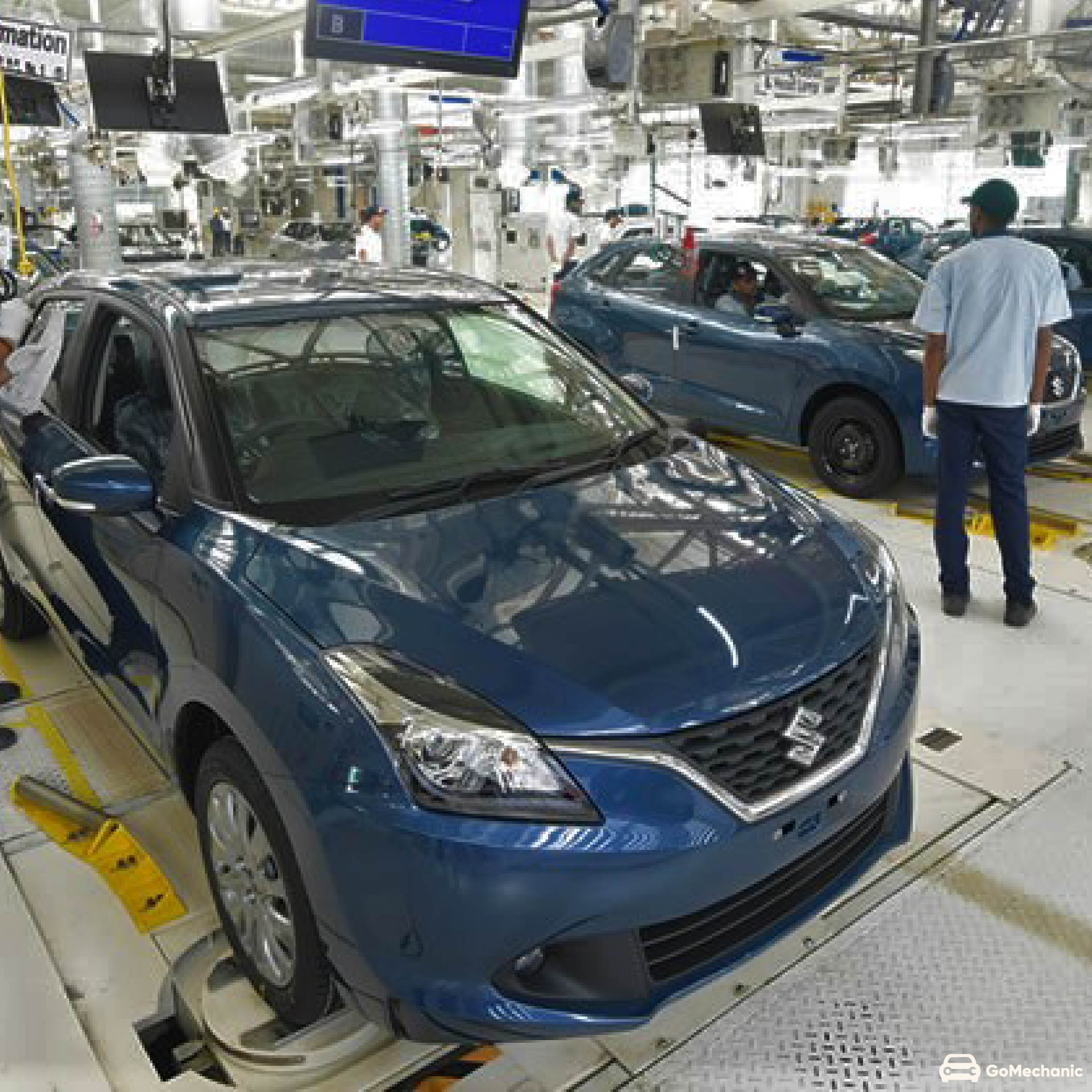 Maruti Suzuki Halting Production