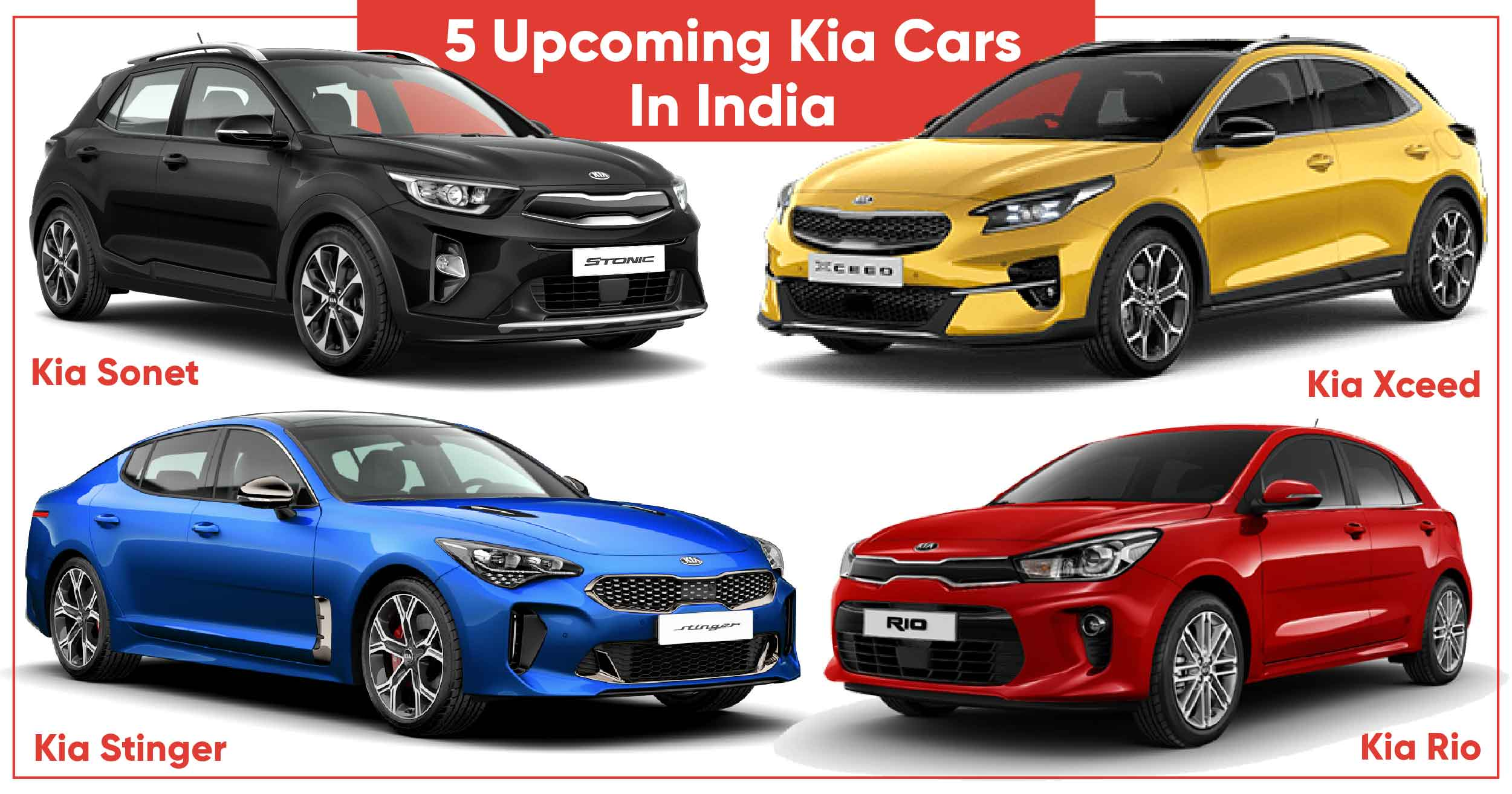 5 Upcoming Kia Cars In India Tough Competition Ahead