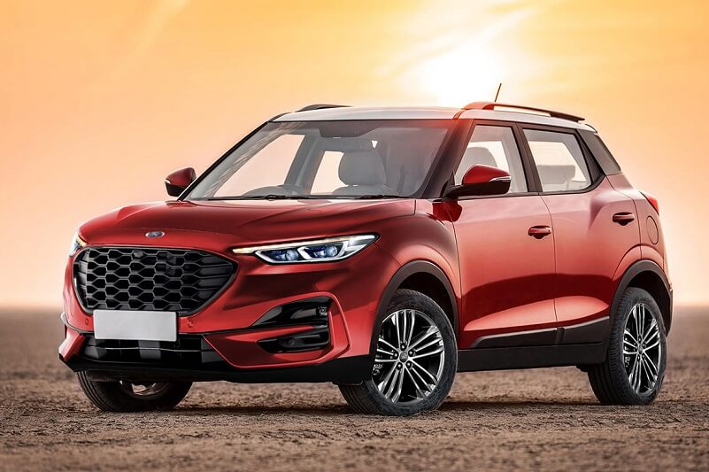 1st Mahindra Ford Suv In Work Based On Ford Ecosport