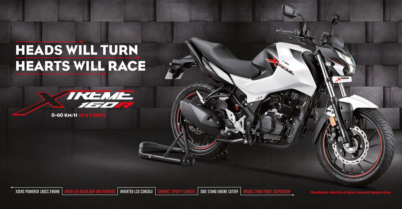 Hero Xtreme 160r Launching Soon Details Inside
