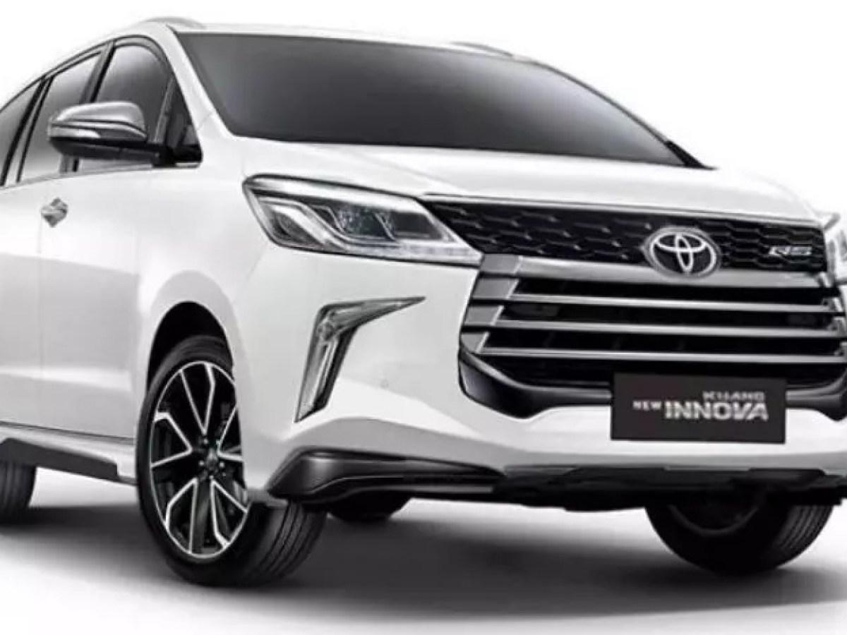 Außen und Innen 2020 Toyota Innova