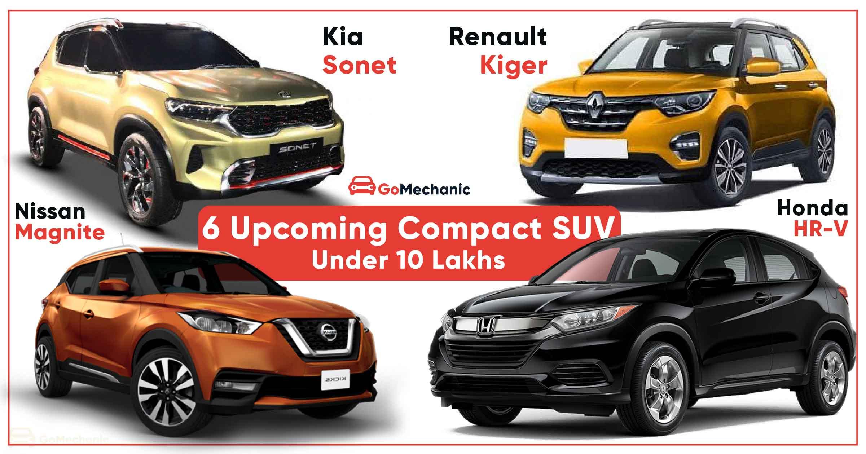 6 Upcoming Compact Suvs Under Rs 10 Lakh Tata Hbx To Kia Sonet