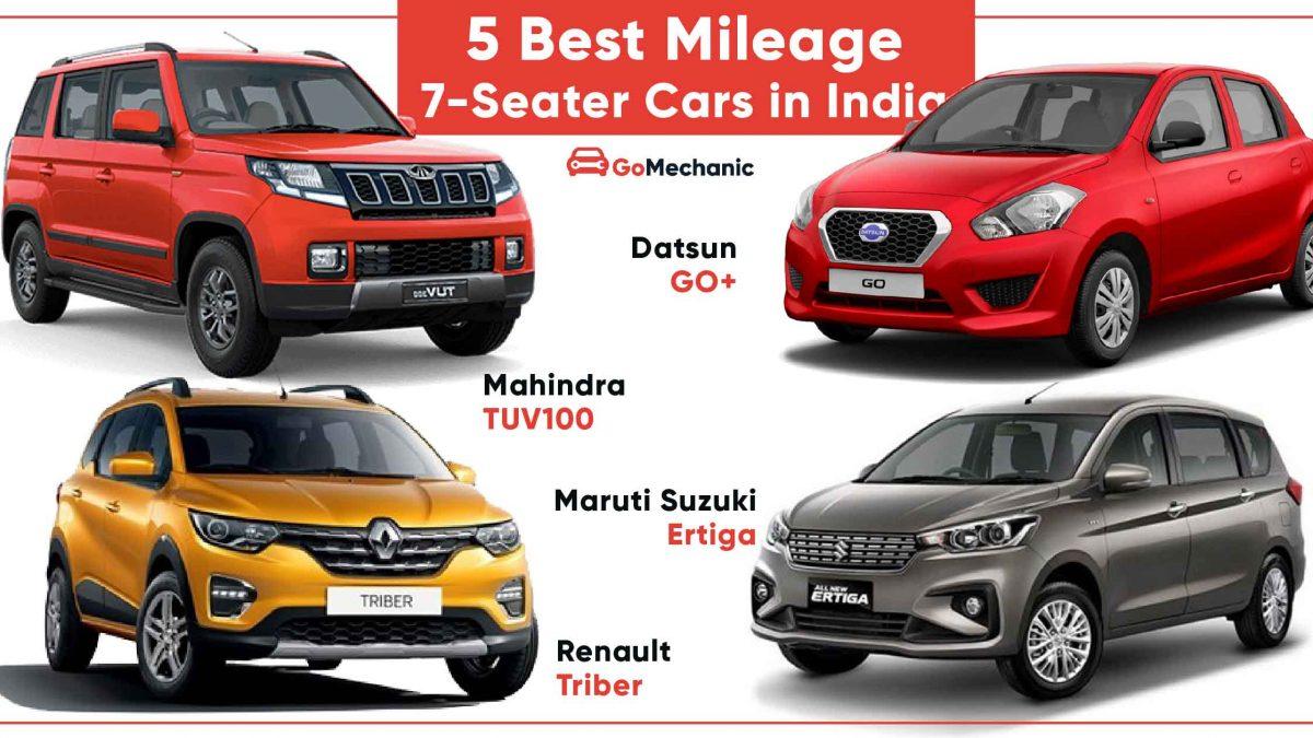 5 Best Mileage Fuel Efficient 7 Seater Cars In India