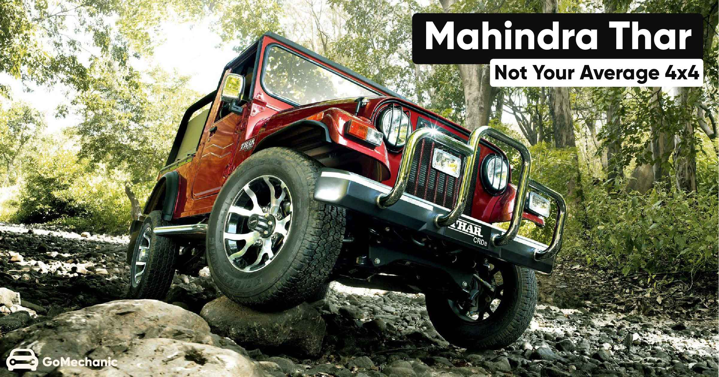 Mahindra Thar The Jeep Cj Made For And Made In India