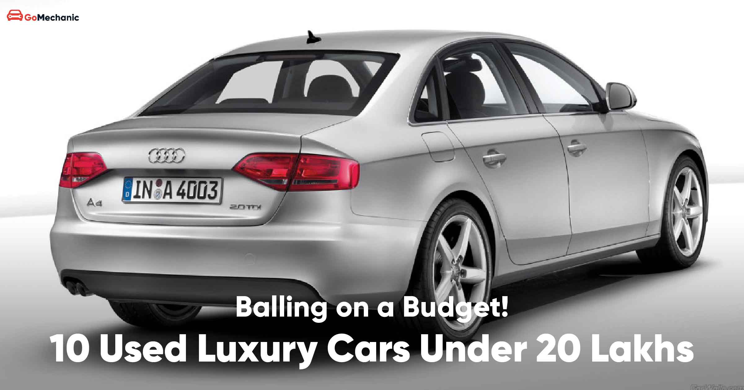10 Used Luxury Cars That You Can Buy For Under 20 Lakhs
