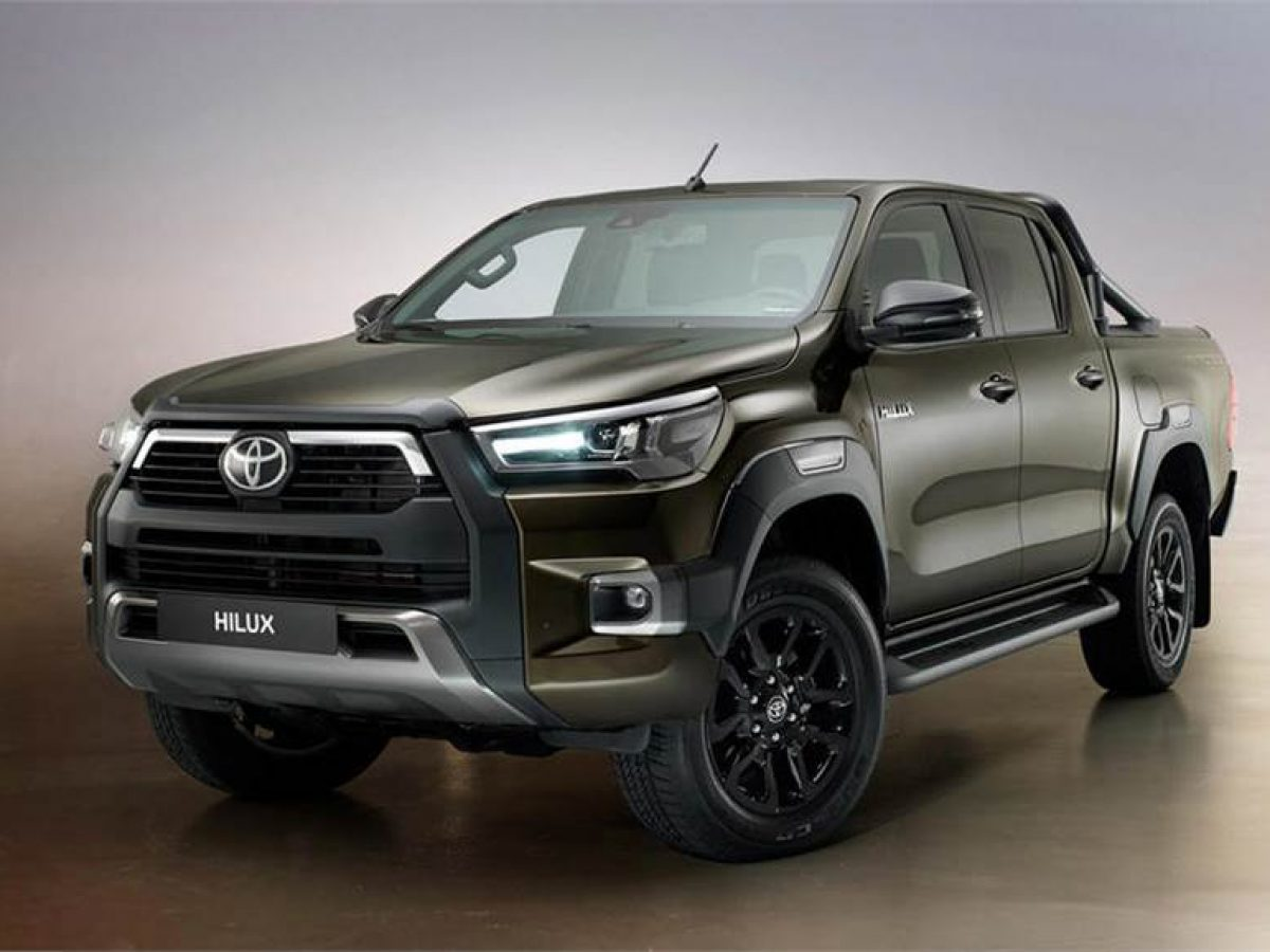 2020 Toyota Hilux Spy Shots Specs