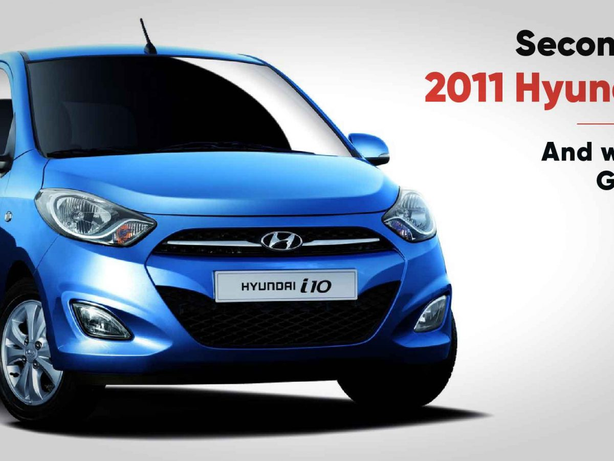 10 Reasons Why A 2011 Hyundai I10 Is A Good Second Hand Used Car