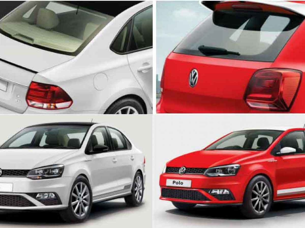 Volkswagen Polo And Vento Red And White Edition Launched